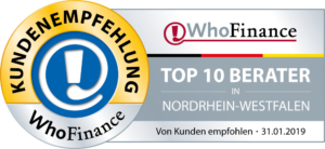 Who Finance TOP 10 Berater NRW