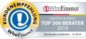 Who Finance TOP 500 Berater 2019