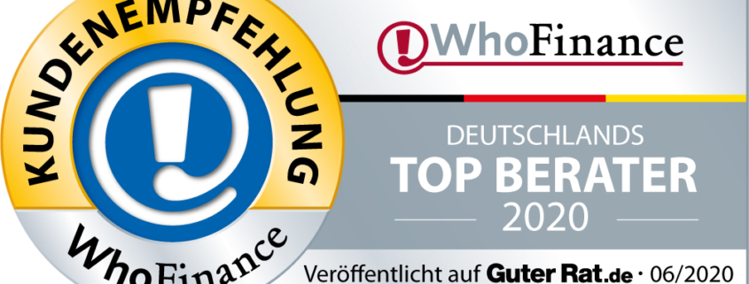 Top Berater 2020 Who Finance